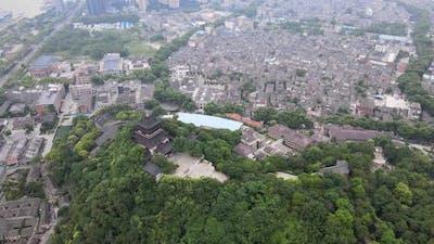 Zhenjiang City, China Aerial