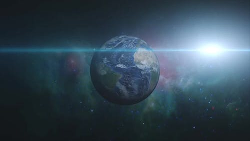 Earth Zoom In