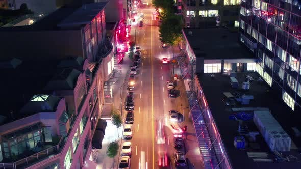 Thumbnail for Vancouver Street Time Lapse