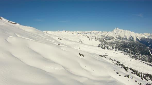 Thumbnail for North Cascades Aerial Shot Flying Towards Mount Shuksan Epic Nature Cascades Mtn Range Landscape