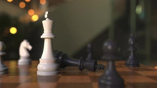Checkmate or Mate in Chess Game