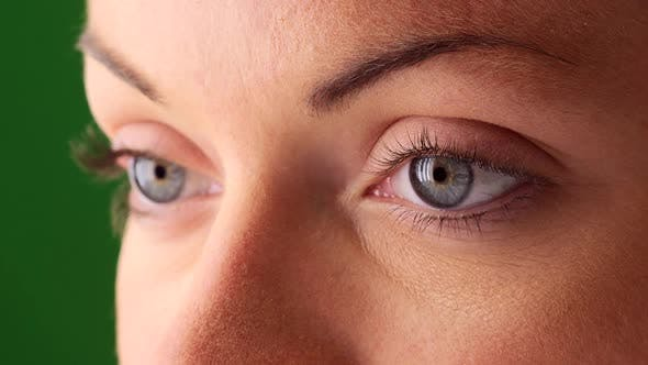 Thumbnail for Close up of young woman's eyes