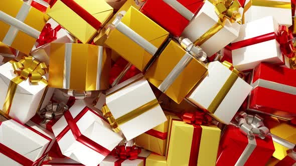 Cover Image for Gift Boxes Transitions 4K