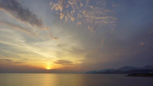 Thumbnail for Sonnenuntergang Meer und Himmel