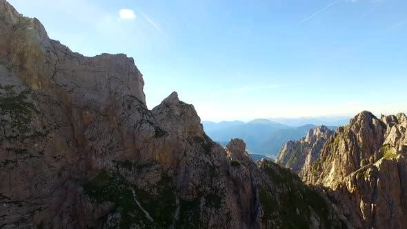 Dangerous Mountain Rocky Peaks