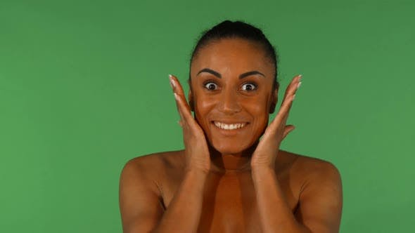 Cover Image for Studio Shot of a Beautiful African Woman Looking Surprised