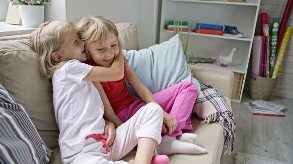 Thumbnail for Cute Girls Sharing Secrets