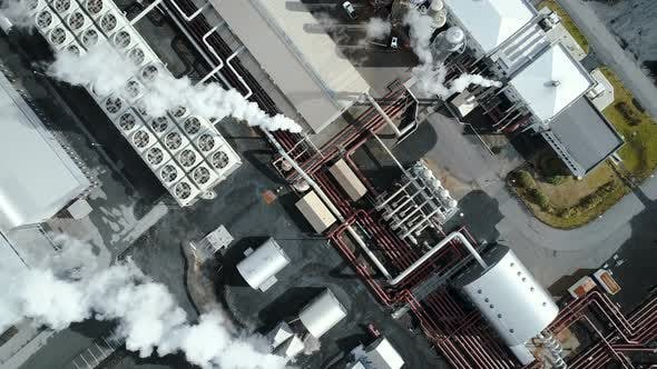 Thumbnail for Industrial Thermal Power Plant From Above