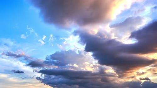 27.7 Clouds Sunset 4 K