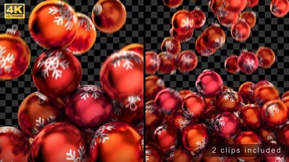 Christmas Balls Transitions