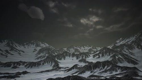 Norway Mountains Severe Landscape