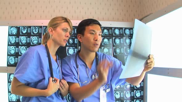 Thumbnail for Doctors consulting