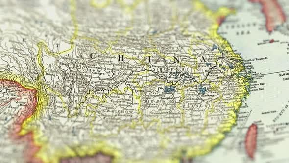 Thumbnail for China On Paper Map,Slider Shot