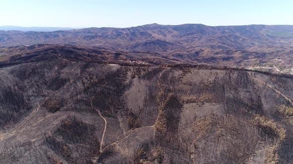 Thumbnail for Flying Over Burned Mountain