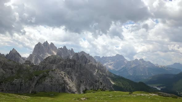 Thumbnail for Timelapse National Nature Park Tre Cime in the Dolomites Alps
