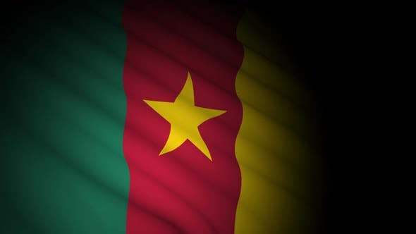 Thumbnail for Cameroon Flag Blowing in Wind