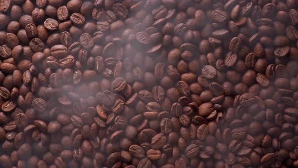 Coffee Beans Are Roasting