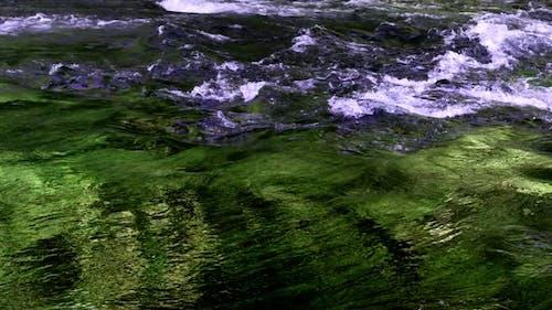 Waterfall In Wild Nature 64