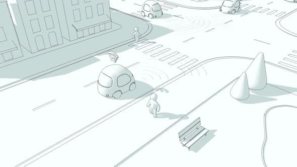 Thumbnail for Self-driving car concept