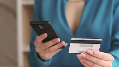 Cashless Payment Banking Operation Credit Card