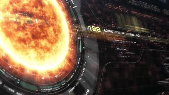Thumbnail for Futuristic Holographic Sun Corona Head Up Display