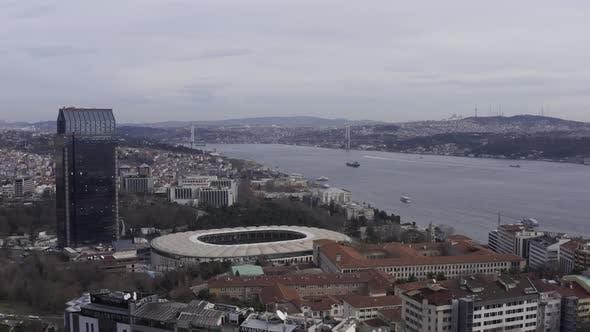 Thumbnail for Istanbul Bosphorus And Besiktas Stadium