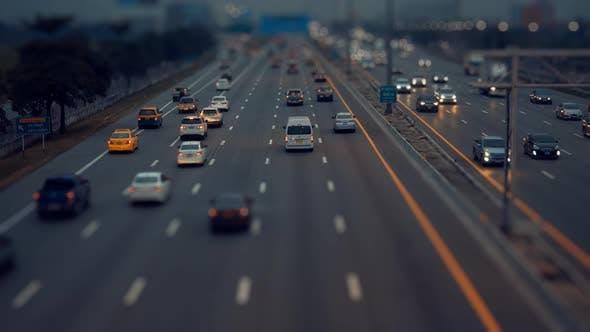 Miniature Traffic Road