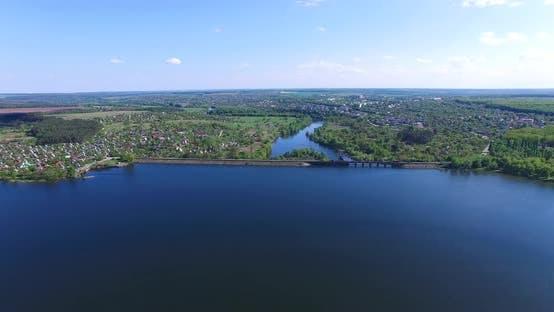 Thumbnail for Dam Blocking the River