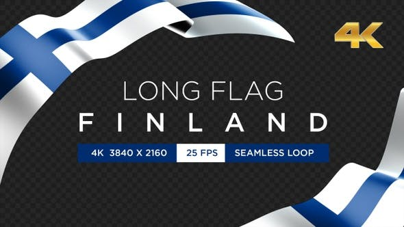 Long Flag Finland
