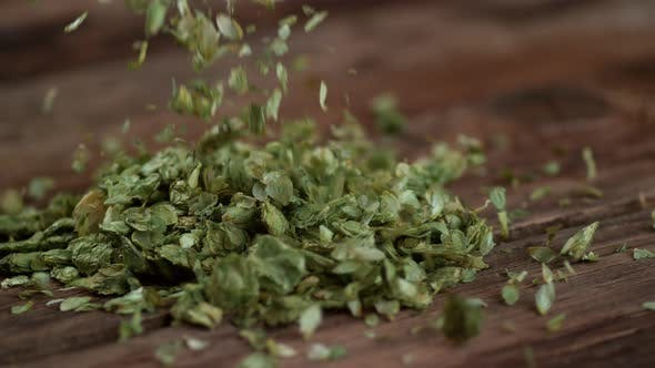 Thumbnail for Pouring hops , slow motion, shot on Phantom Flex 4K