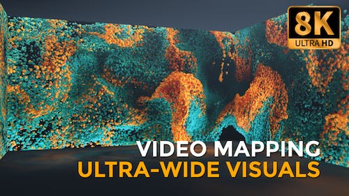 Particles Turbulence Widescreen