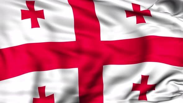 Thumbnail for Georgia Flag