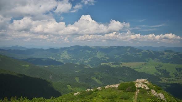Carpatian Mountain Time Lapse.