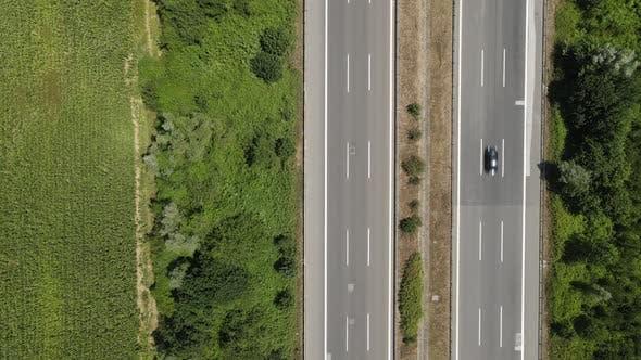 Intercity Highway Drone Traffic