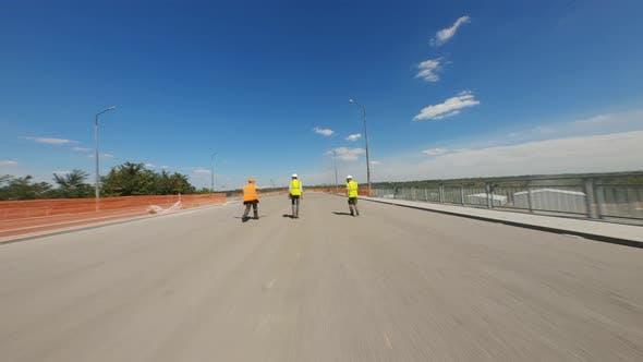 Thumbnail for Bridge Scheme Emerging Over River