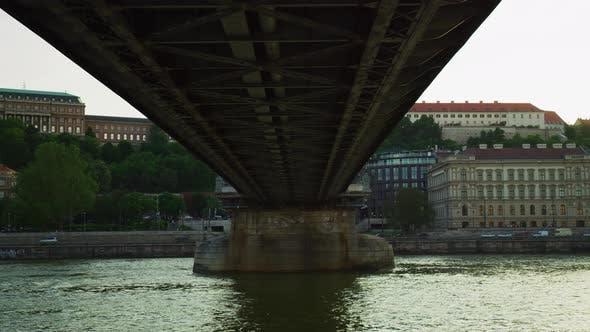 Thumbnail for Széchenyi Chain Bridge seen from below