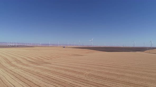 Thumbnail for Wind turbine in field, Oregon