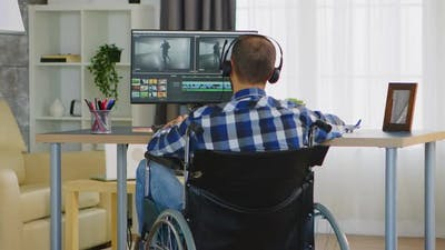 Videographer Working From Home