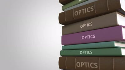 Book Cover with OPTICS Title
