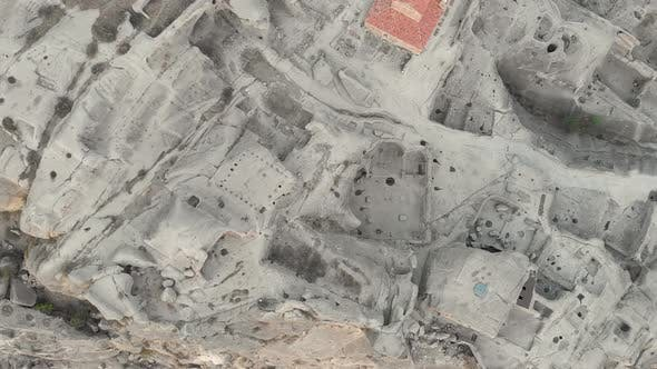 Thumbnail for Uplistsikhe Monastery Overhead Close Up