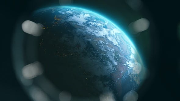 Thumbnail for View Of Earth From Spaceship Window