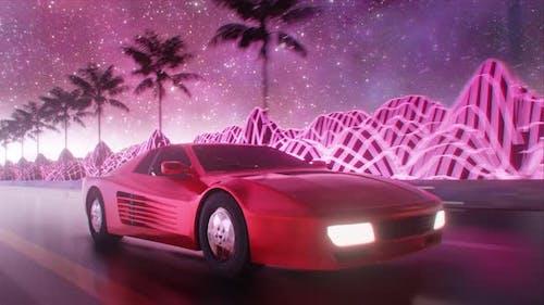 Outrun Retrowave 4K
