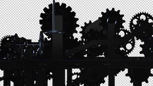Machine Gears - Spinning Loop - I