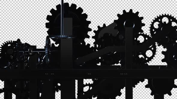 Maschinengetriebe - Spinnschleife - I