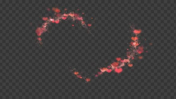 Hearts Overlay