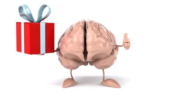 Thumbnail for Fun cartoon brain