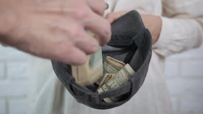 Throw Money To the Beggar