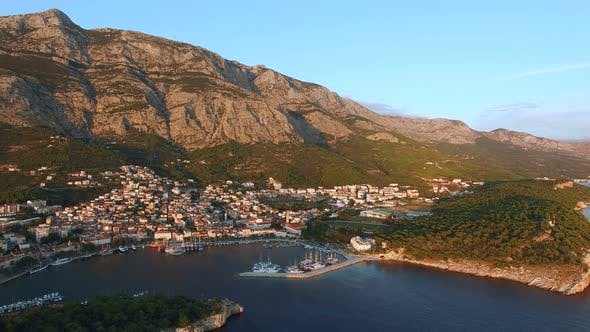 Thumbnail for Aerial view of Makarska riviera