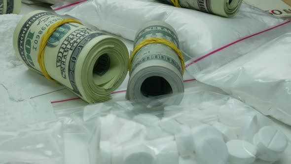 Thumbnail for Llegal Monetary Gain From The Sale Of The Drug Cartel