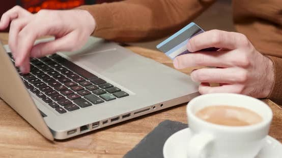 Cover Image for Paying with a Card Online in a Coffe Shop